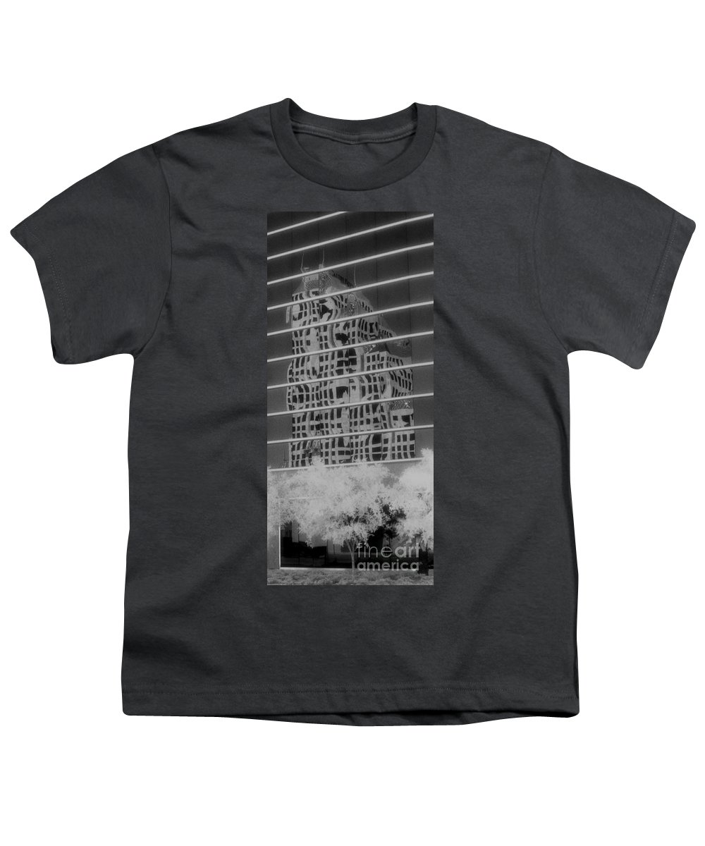 Distorted Youth T-Shirt featuring the photograph Distorted Views by Richard Rizzo