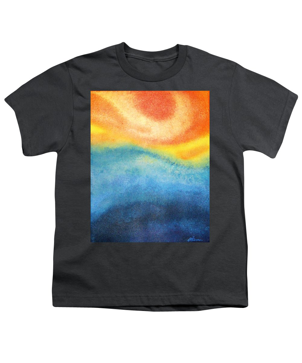 Escape Youth T-Shirt featuring the painting Escape by Todd Hoover