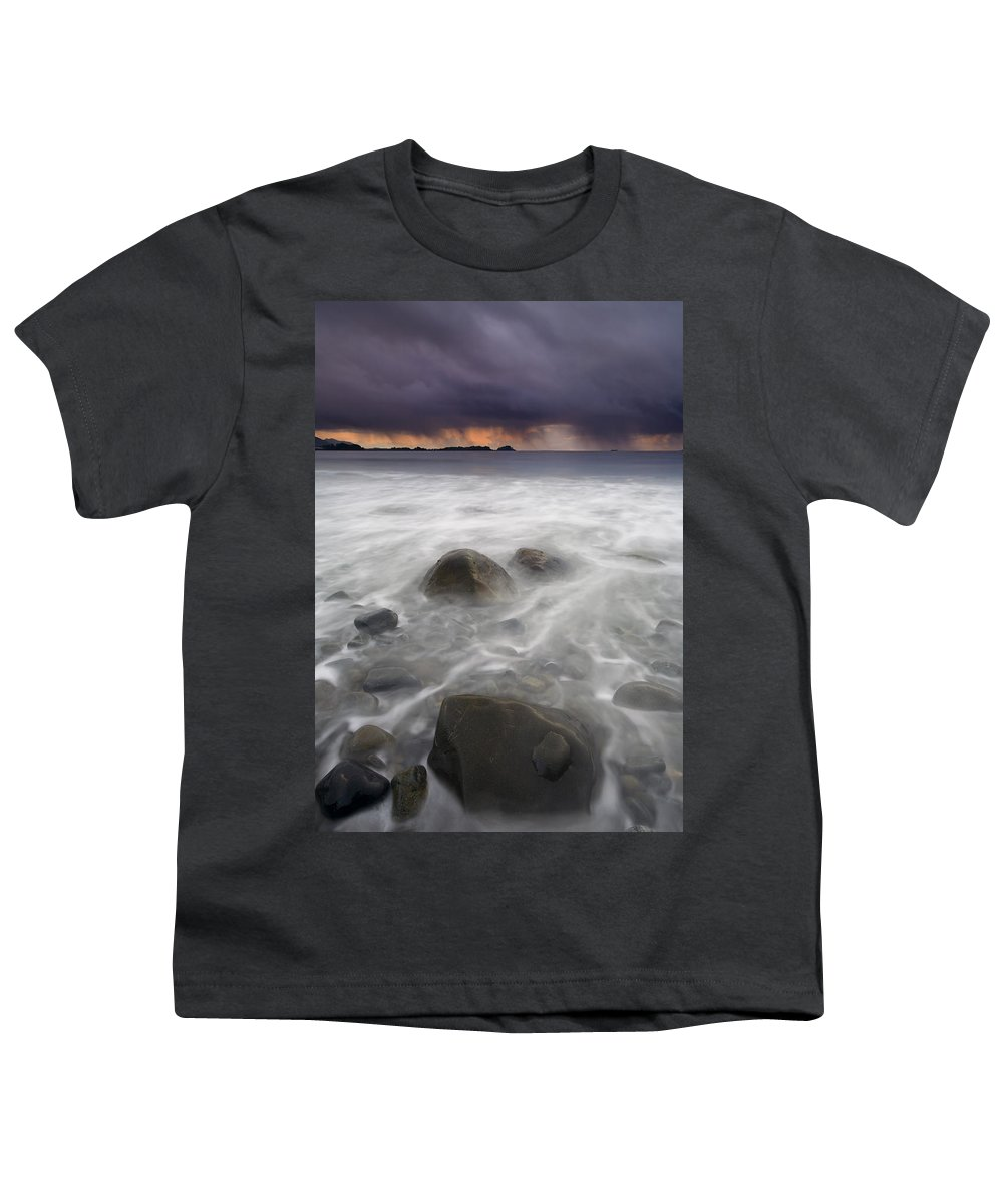 Storm Youth T-Shirt featuring the photograph Fingers Of The Storm by Mike Dawson