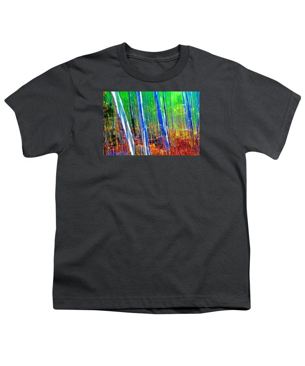 Forest Youth T-Shirt featuring the photograph Forest Magic by Bill Morgenstern