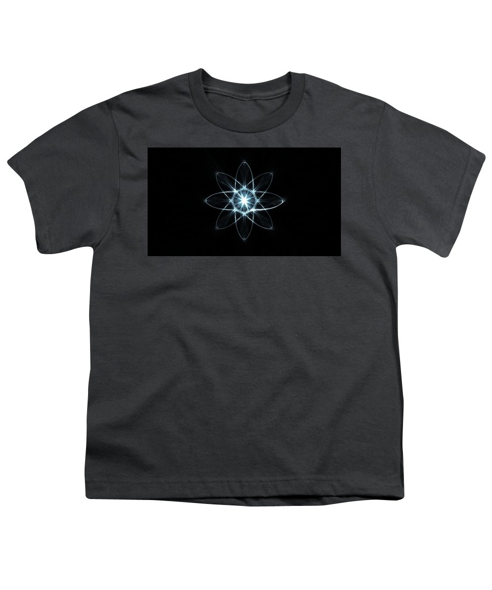 Form Shape Shadow Background Dark 46633 1920x1080 Youth T-Shirt
