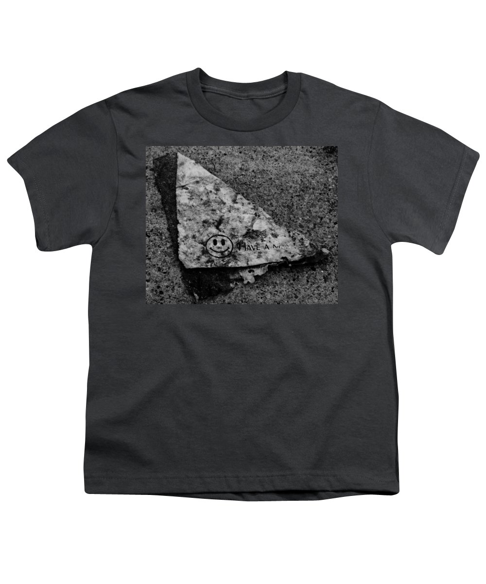 Debris Youth T-Shirt featuring the photograph Have A Nice Day by Angus Hooper Iii