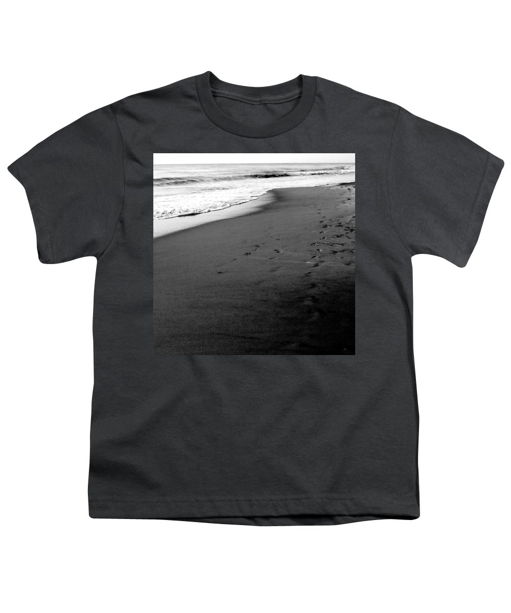 Photograph Youth T-Shirt featuring the photograph In My Thoughts by Jean Macaluso