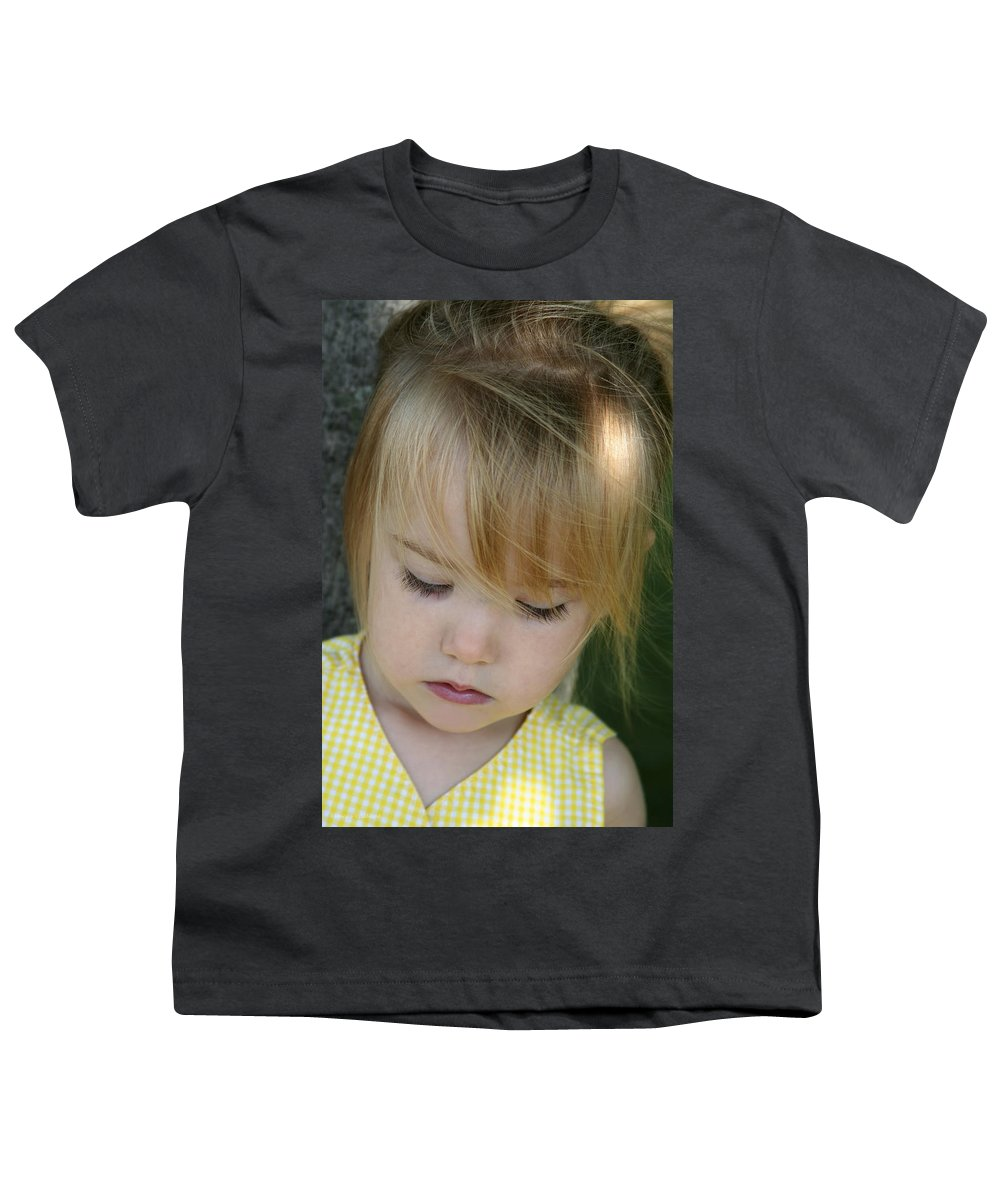 Angelic Youth T-Shirt featuring the photograph Innocence II by Margie Wildblood