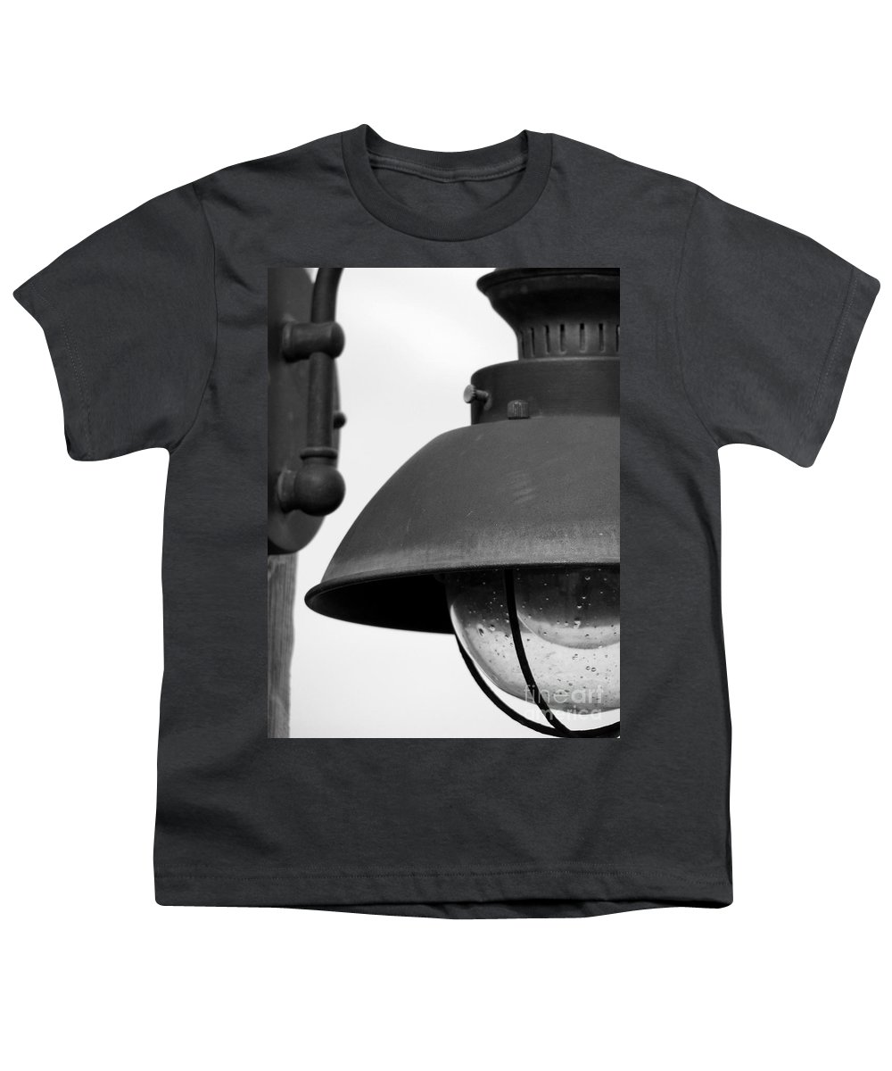 Lamppost Youth T-Shirt featuring the photograph Lamp Post by Amanda Barcon