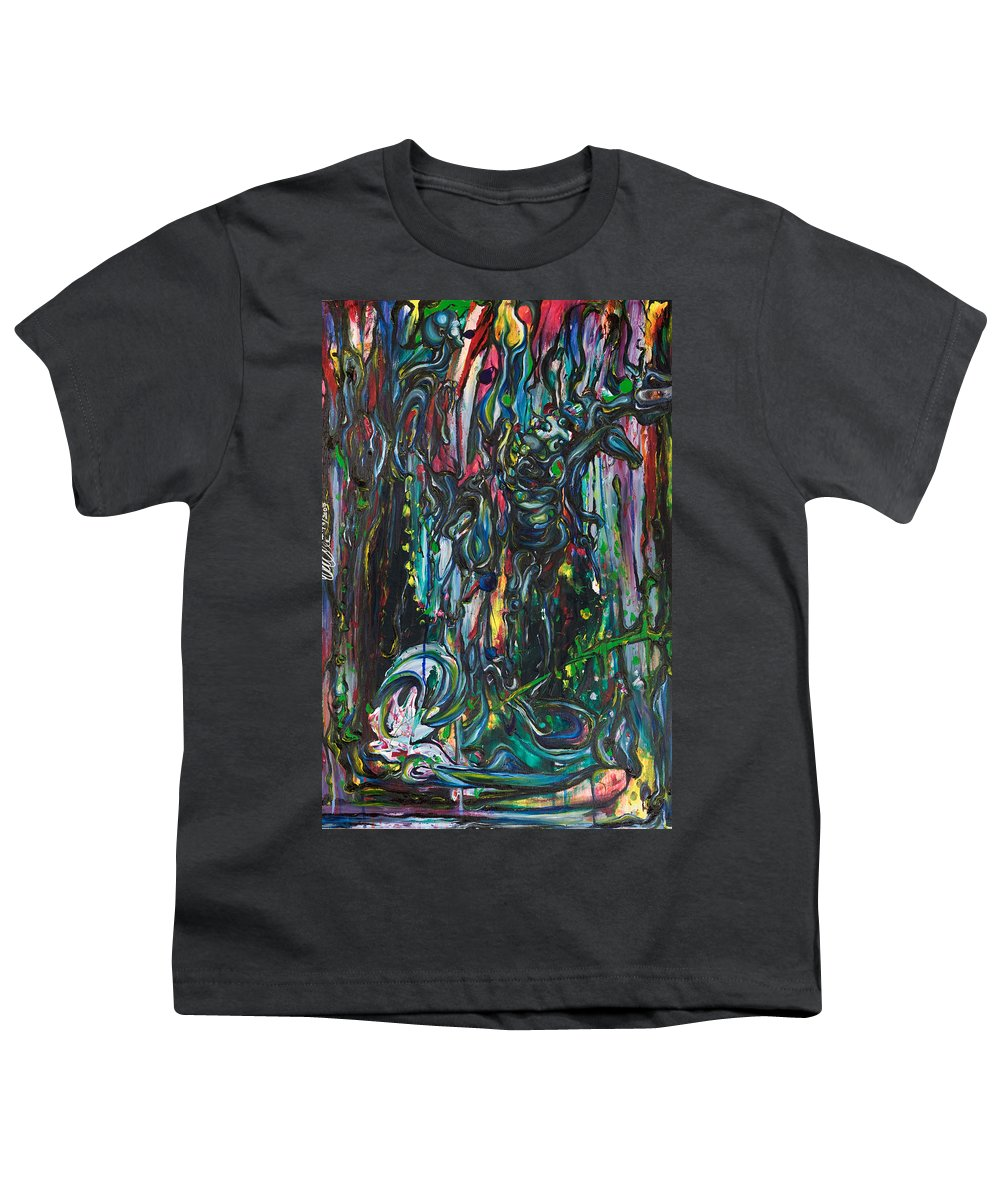 Surreal Youth T-Shirt featuring the painting March Into The Sea by Sheridan Furrer
