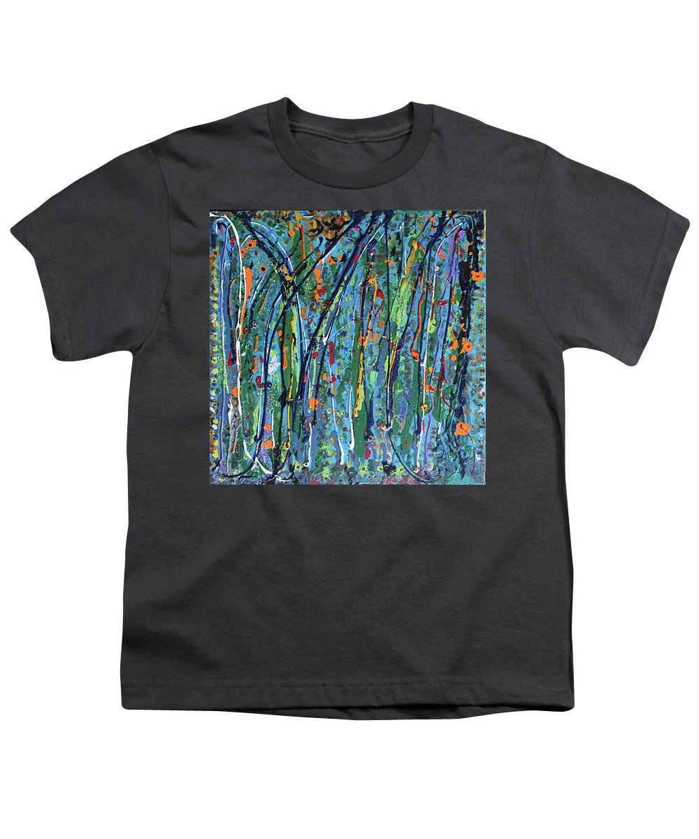 Bright Youth T-Shirt featuring the painting Mid-Summer Night's Dream by Pam Roth O'Mara
