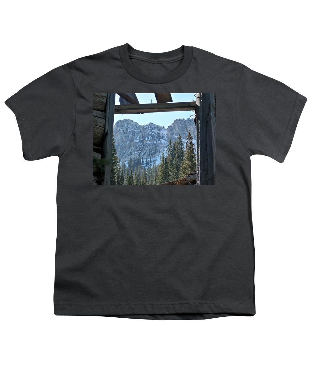 Mountain Youth T-Shirt featuring the photograph Miners Lost View by Michael Cuozzo