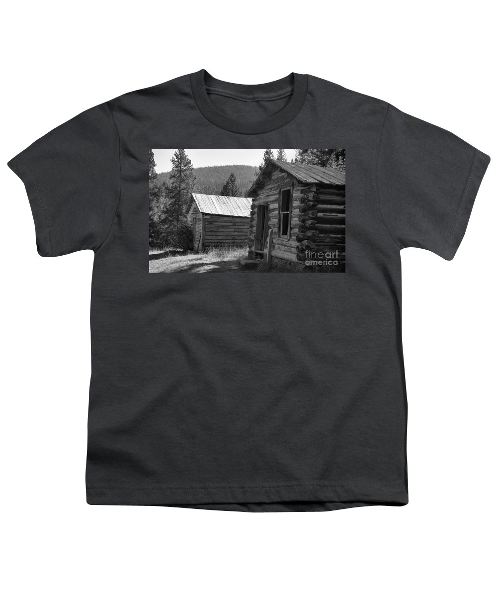 Abandoned Youth T-Shirt featuring the photograph Neighbors by Richard Rizzo
