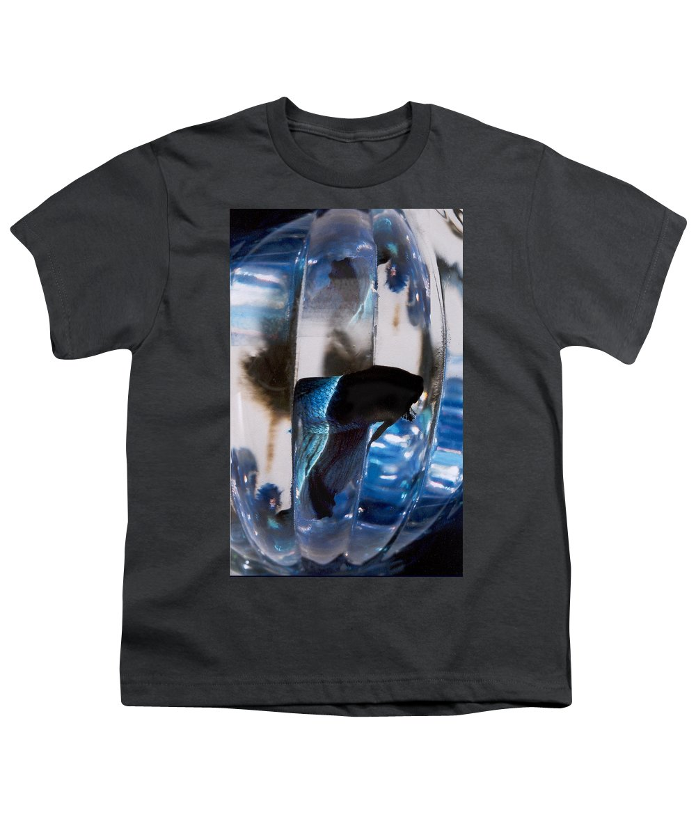 Abstract Youth T-Shirt featuring the photograph panel three from Swirl by Steve Karol