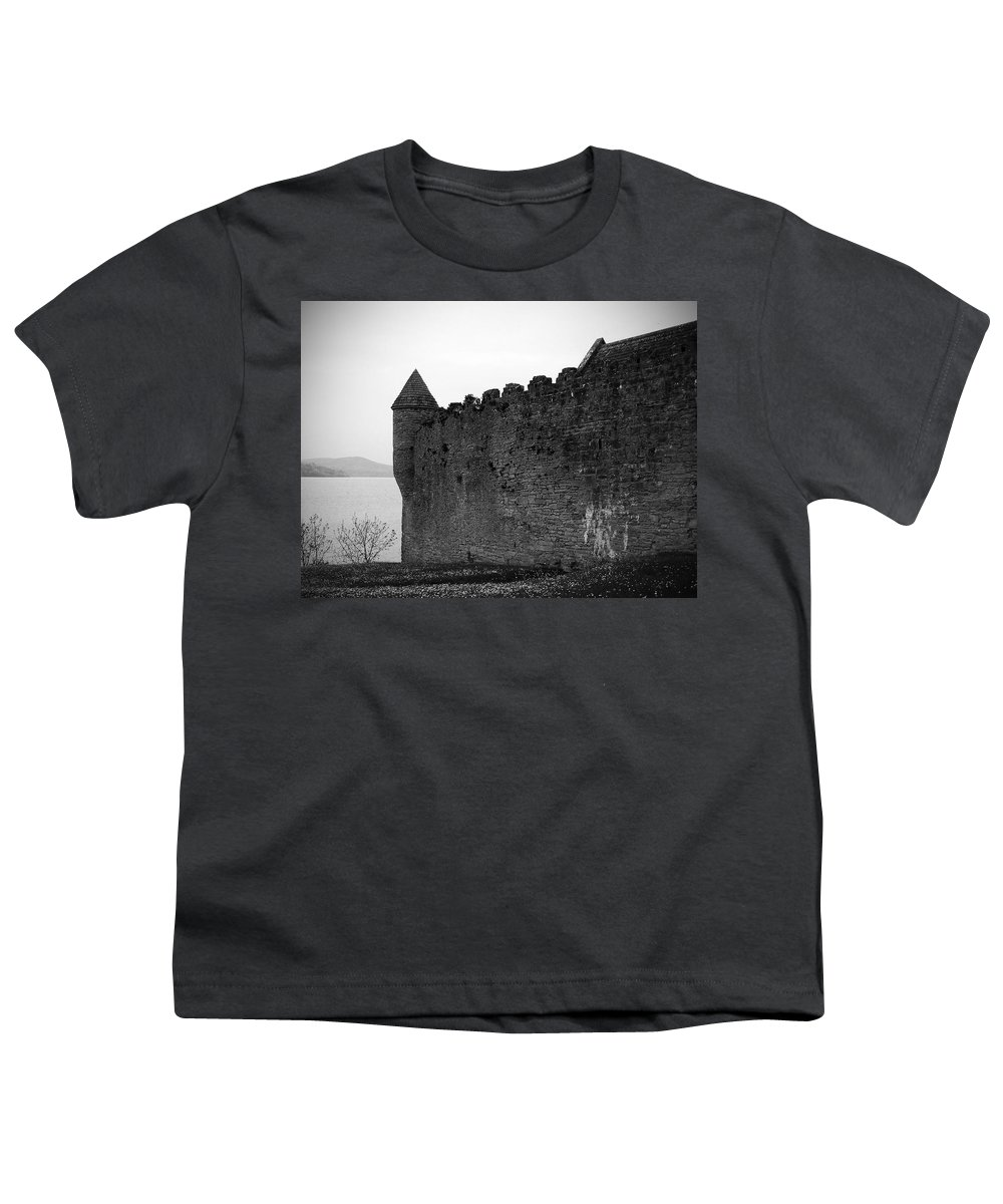 Ireland Youth T-Shirt featuring the photograph Parkes Castle County Leitrim Ireland by Teresa Mucha