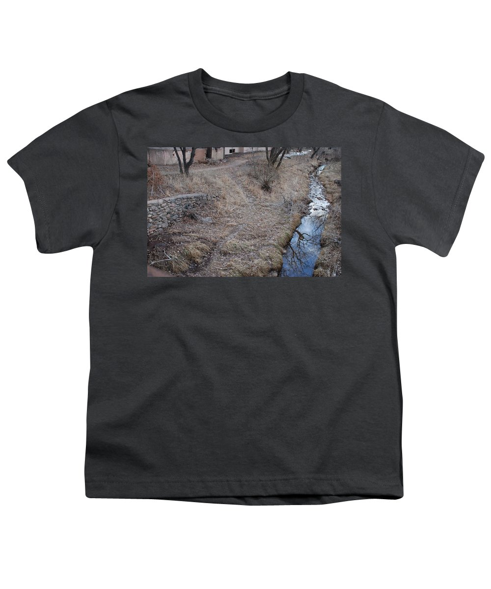 Water Youth T-Shirt featuring the photograph Reflections In The River by Rob Hans