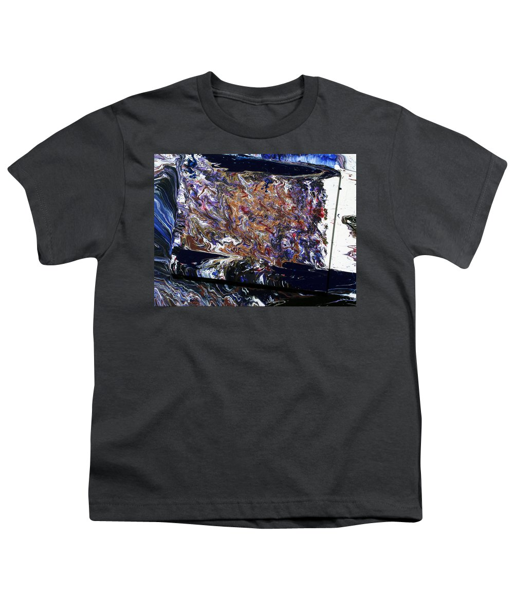 Fusionart Youth T-Shirt featuring the painting Revolution by Ralph White