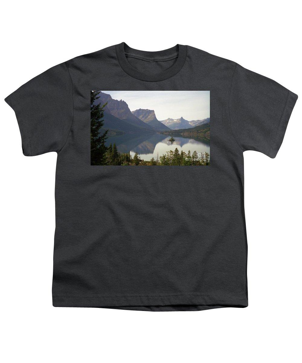 Lake Youth T-Shirt featuring the photograph Saint Marys Lake by Richard Rizzo