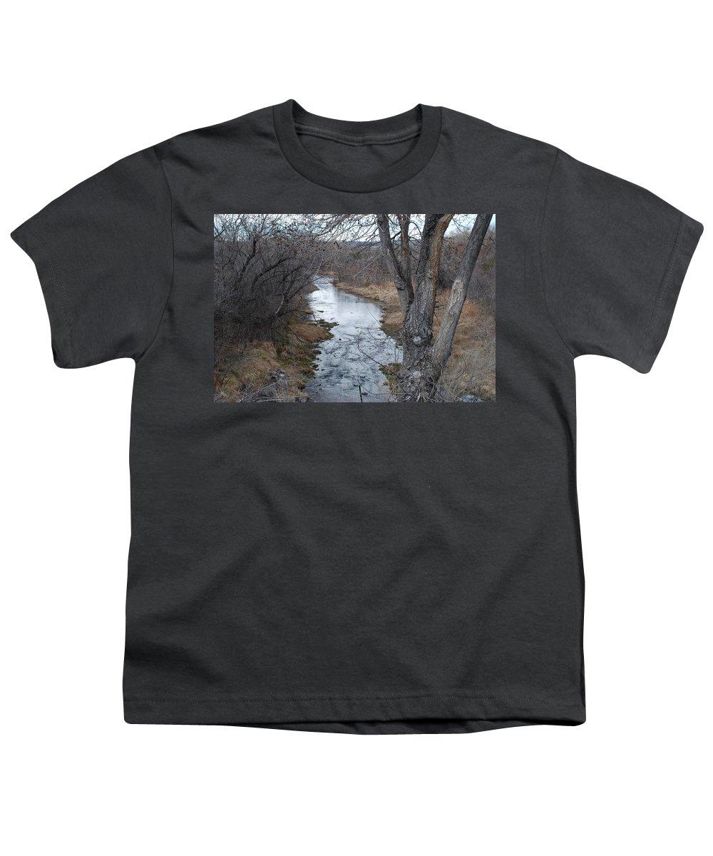 Santa Fe Youth T-Shirt featuring the photograph Santa Fe River by Rob Hans