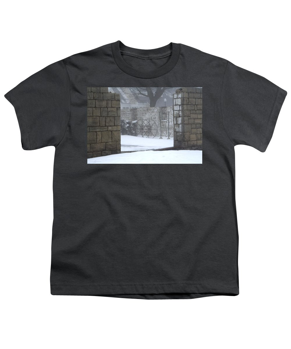 Winter Youth T-Shirt featuring the photograph Stone Cellar by Tim Nyberg