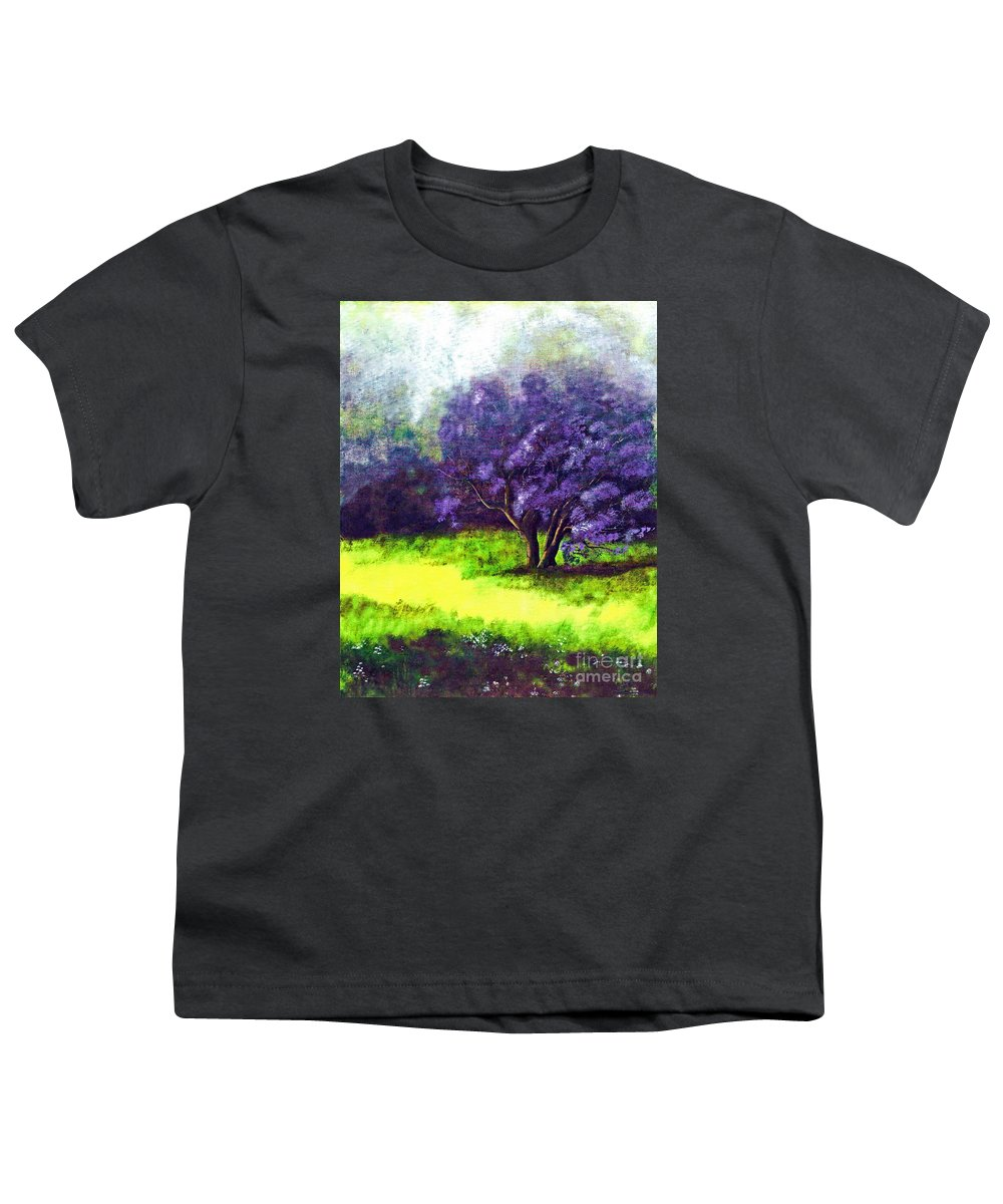 Fine Art Print Youth T-Shirt featuring the painting Summer Mist by Patricia Griffin Brett