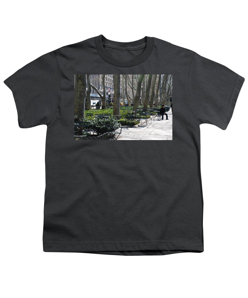 Parks Youth T-Shirt featuring the photograph Sunny Morning In The Park by Rob Hans
