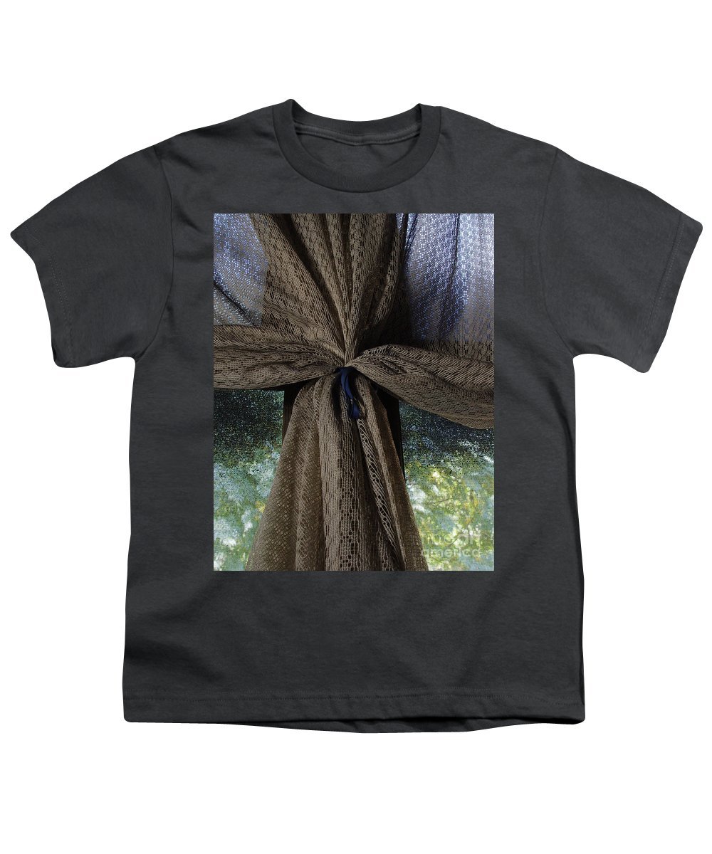 Texture Youth T-Shirt featuring the photograph Texture And Lace by Peter Piatt