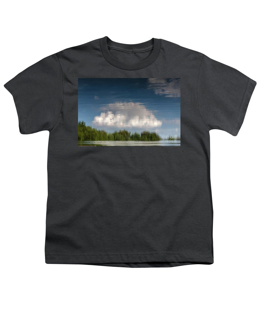 Abstract Youth T-Shirt featuring the photograph Thought by Larry Braun