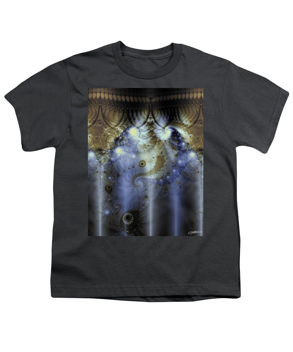 Blue Youth T-Shirt featuring the digital art Timeline Of History by Casey Kotas