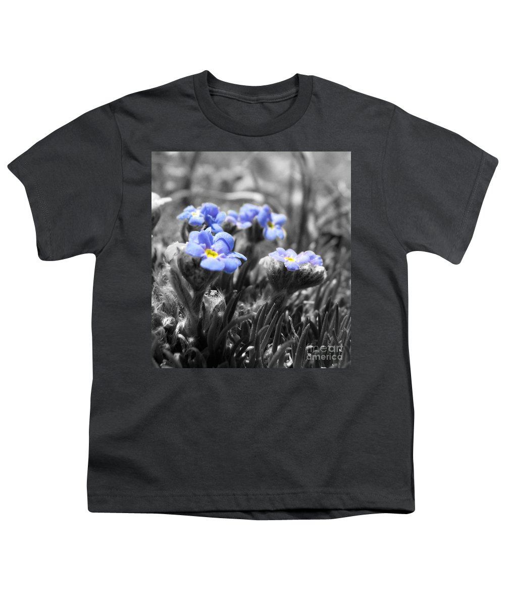 Flowers Youth T-Shirt featuring the photograph Tiny Gems by Amanda Barcon