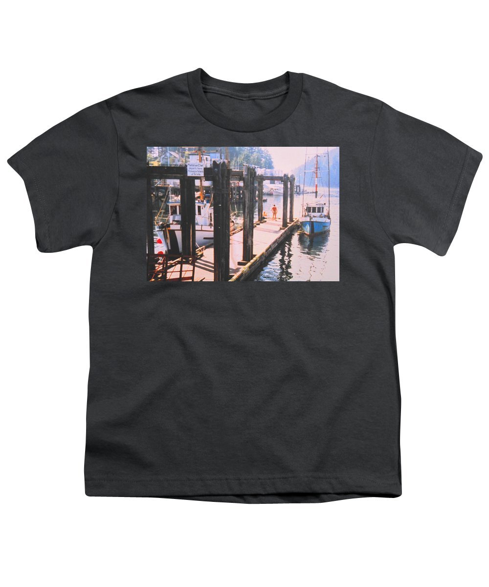 Tofino Youth T-Shirt featuring the photograph Tofino by Ian MacDonald