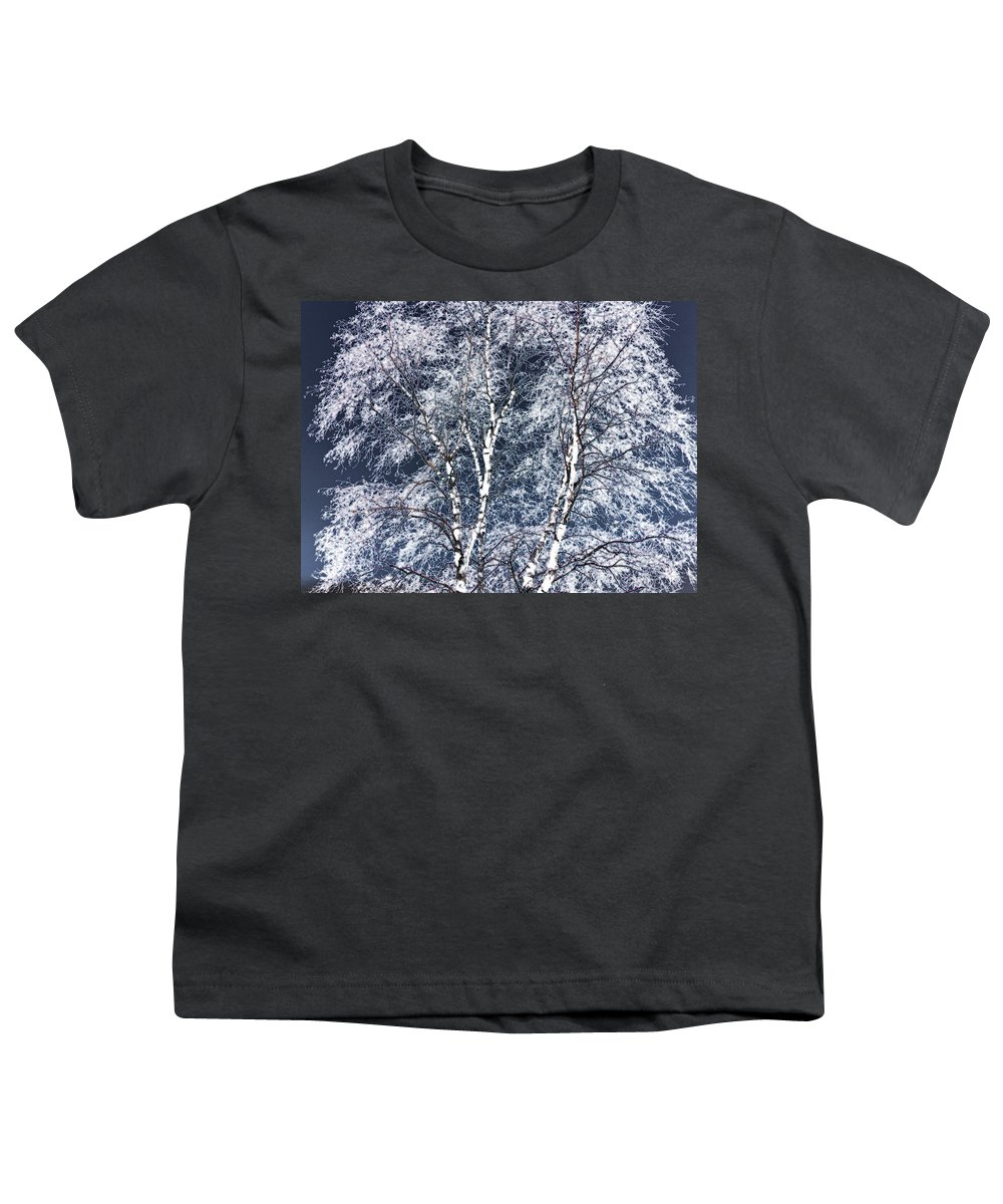 Tree Youth T-Shirt featuring the digital art Tree Fantasy 14 by Lee Santa