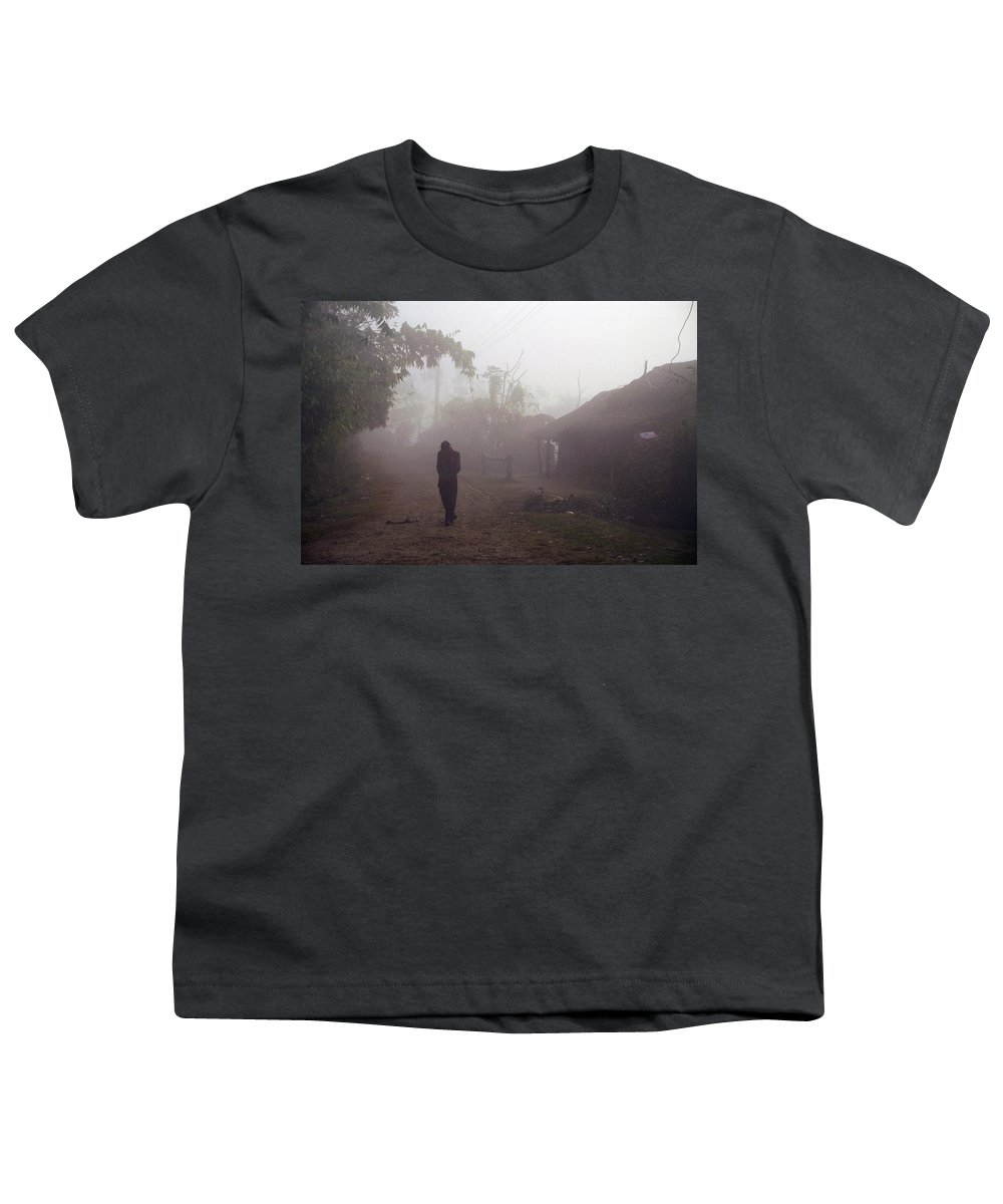 Nepal Youth T-Shirt featuring the photograph Tristesse by Patrick Klauss