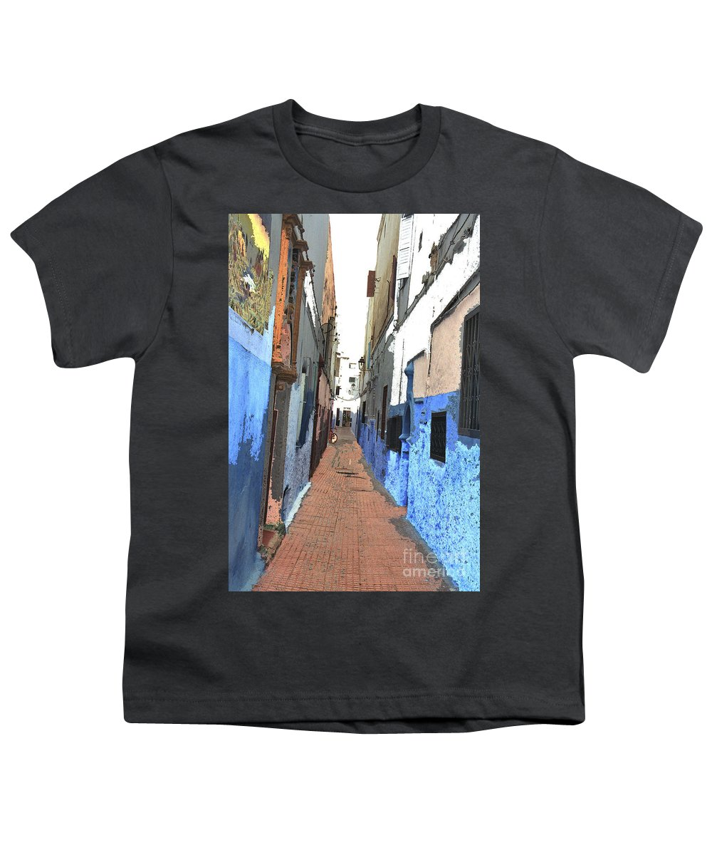 Urban Youth T-Shirt featuring the photograph Urban Scene by Hana Shalom