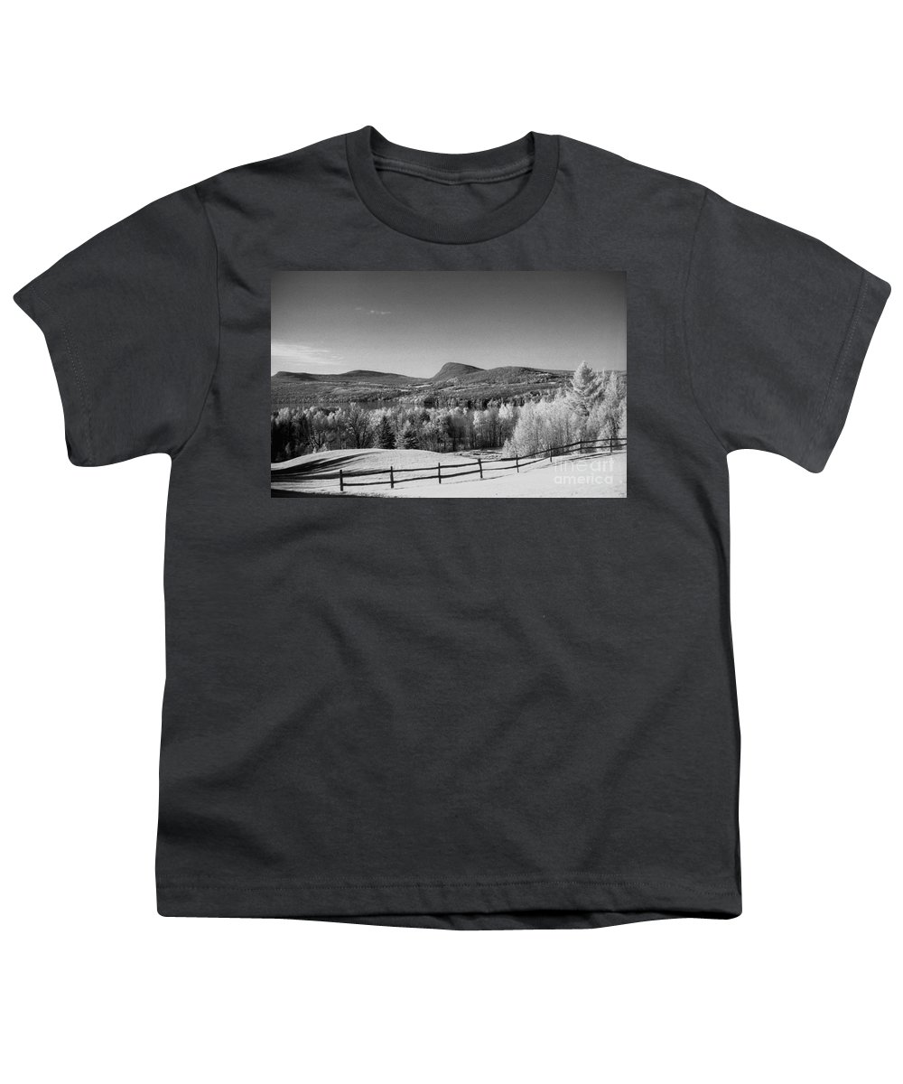 Landscape Youth T-Shirt featuring the photograph View Of Lake Willoughby by Richard Rizzo