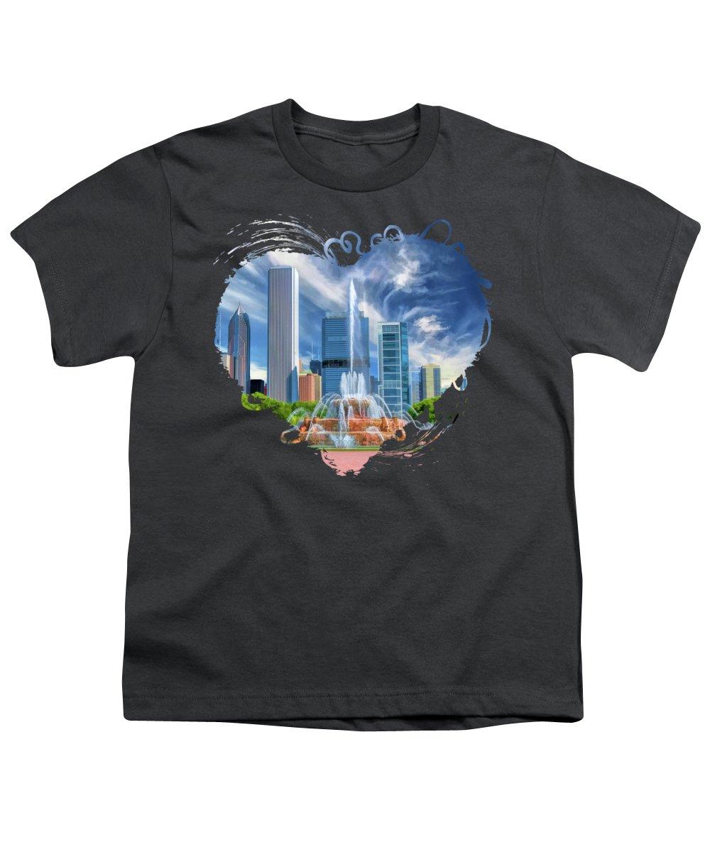 Skyscraper Youth T-Shirts