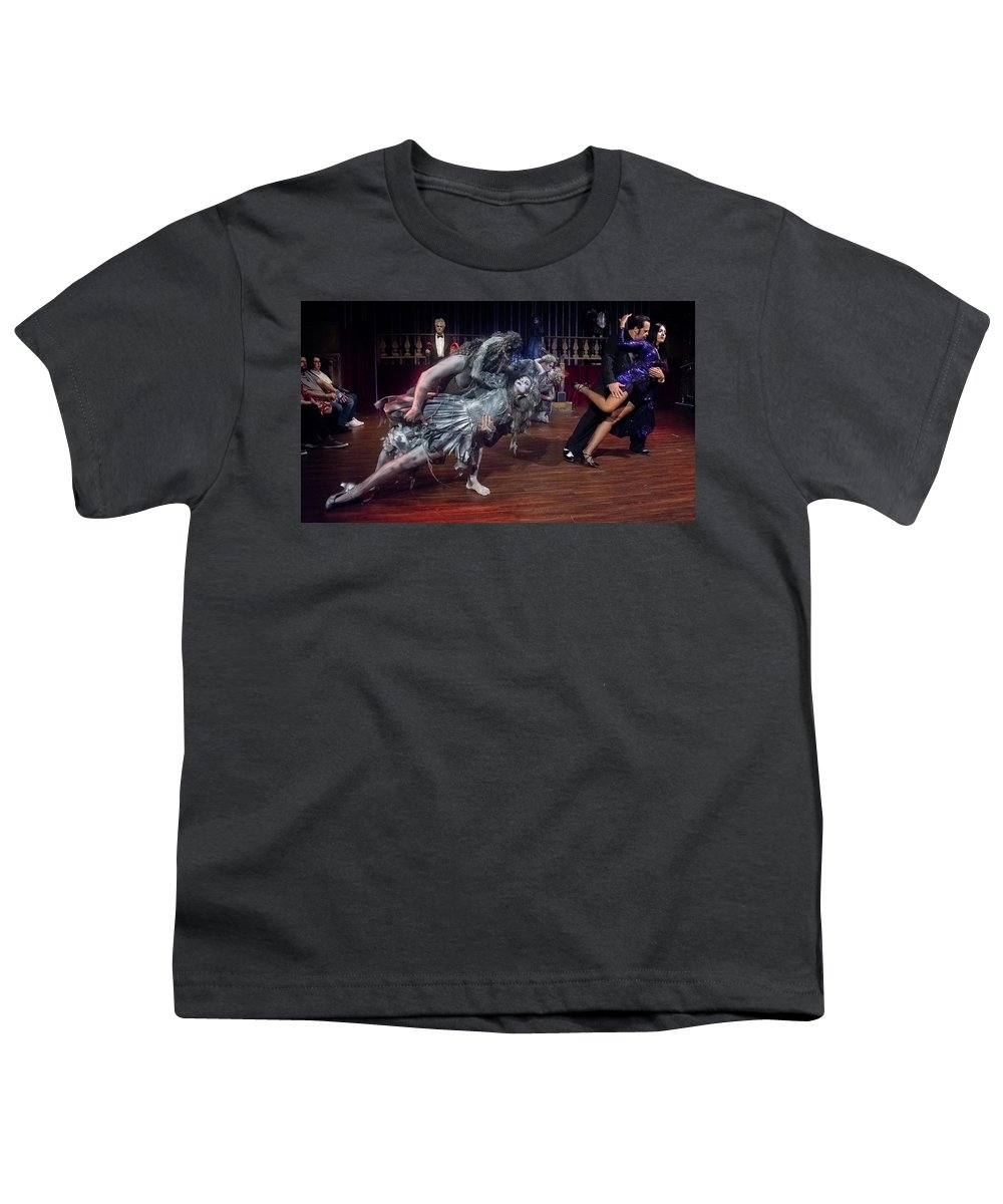 Adams Family Youth T-Shirt featuring the photograph Adams Family Dance by Alan D Smith