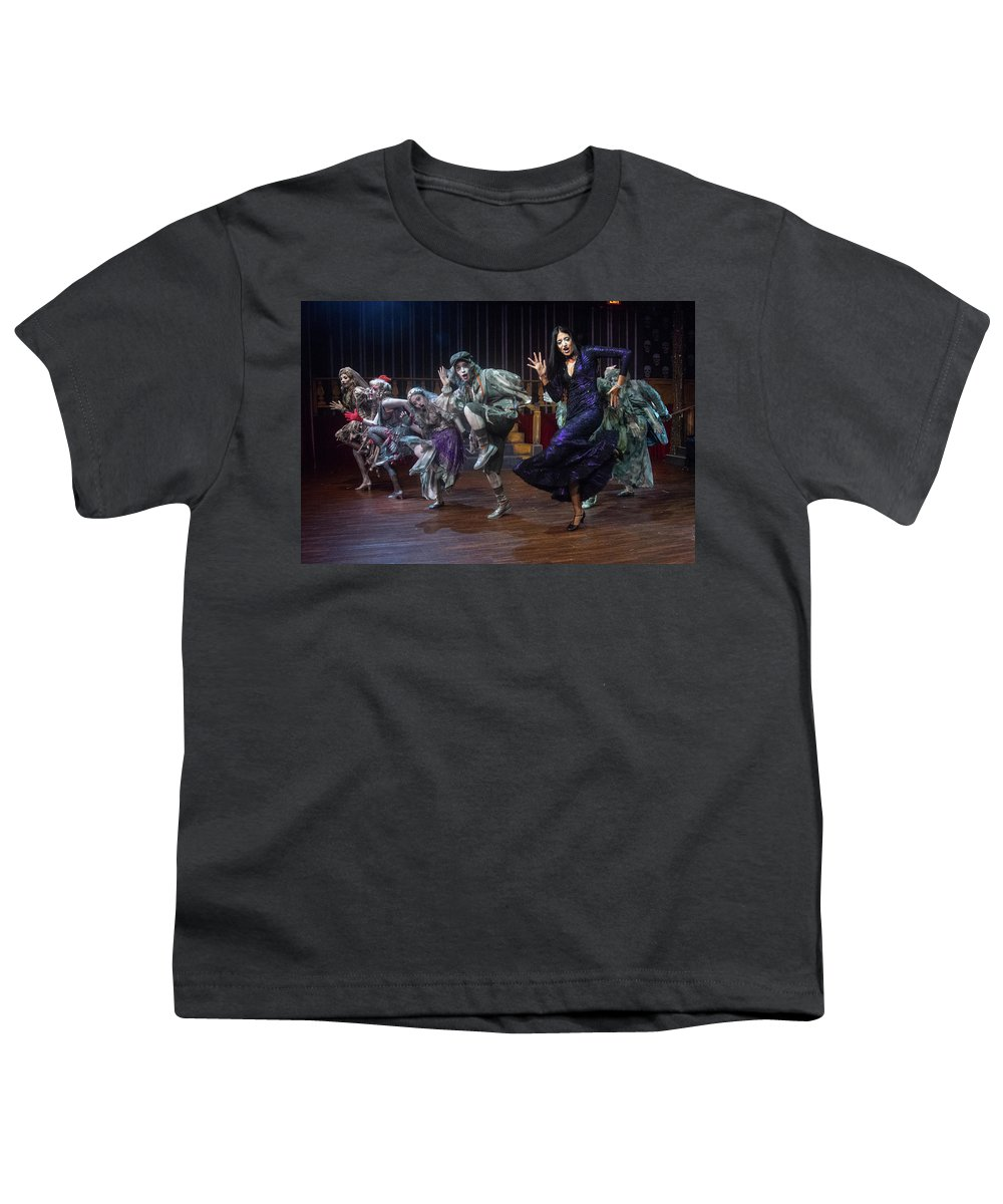Adams Family Youth T-Shirt featuring the photograph Dance With The Relatives by Alan D Smith