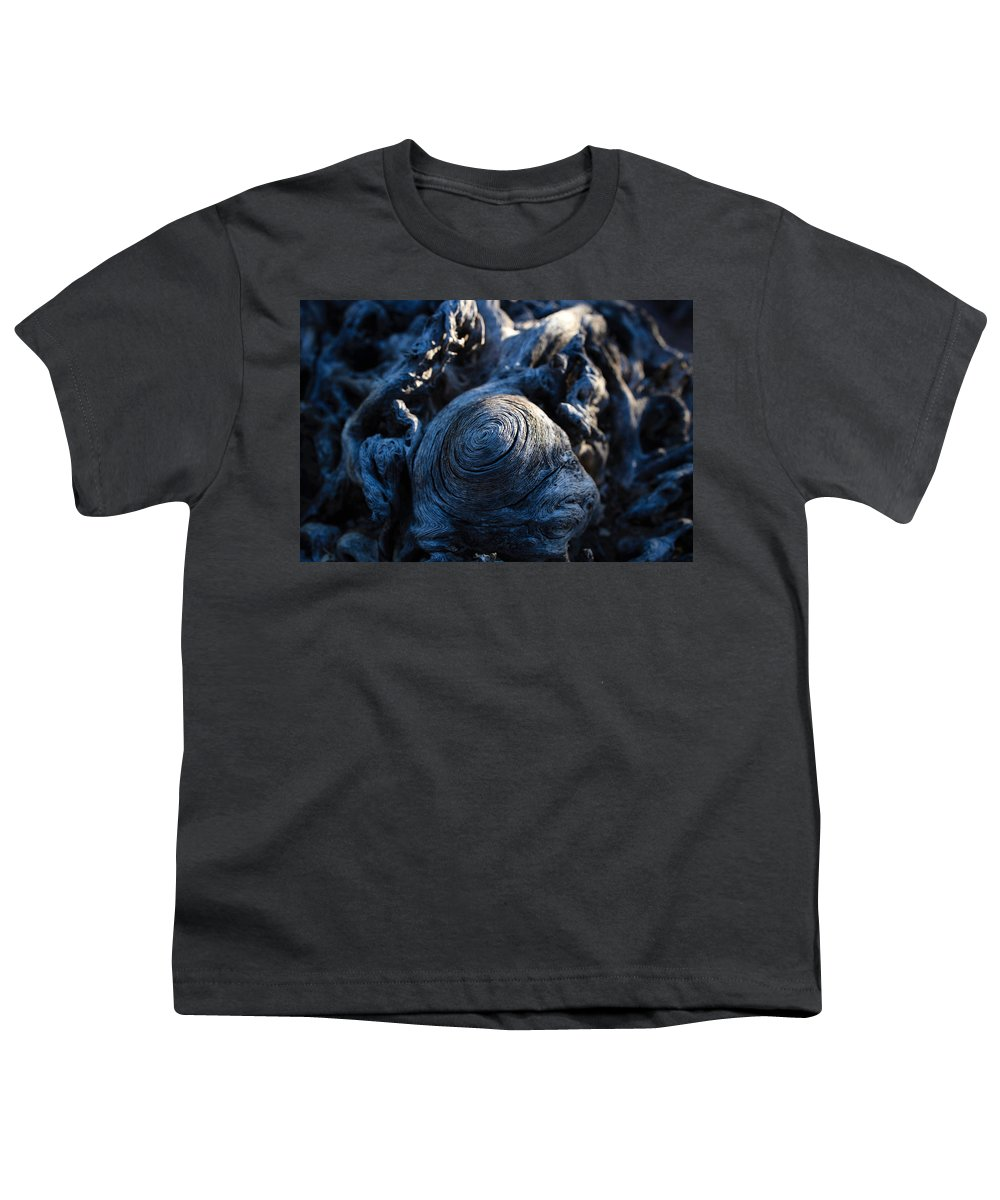 Saguaro Youth T-Shirt featuring the photograph Saguaro Vortex by Kati Astraeir