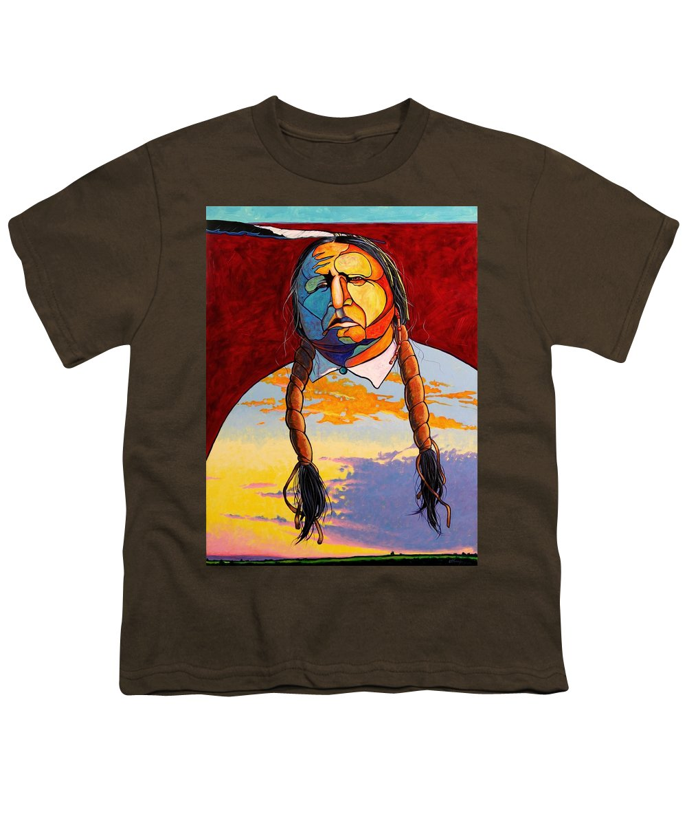 Spiritual Youth T-Shirt featuring the painting All That I Am by Joe Triano
