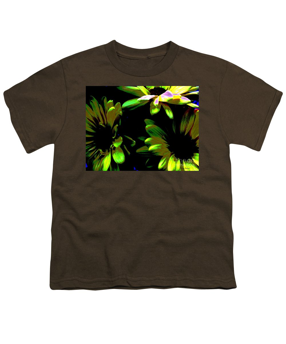 Art For The Wall...patzer Photography Youth T-Shirt featuring the photograph Burst by Greg Patzer
