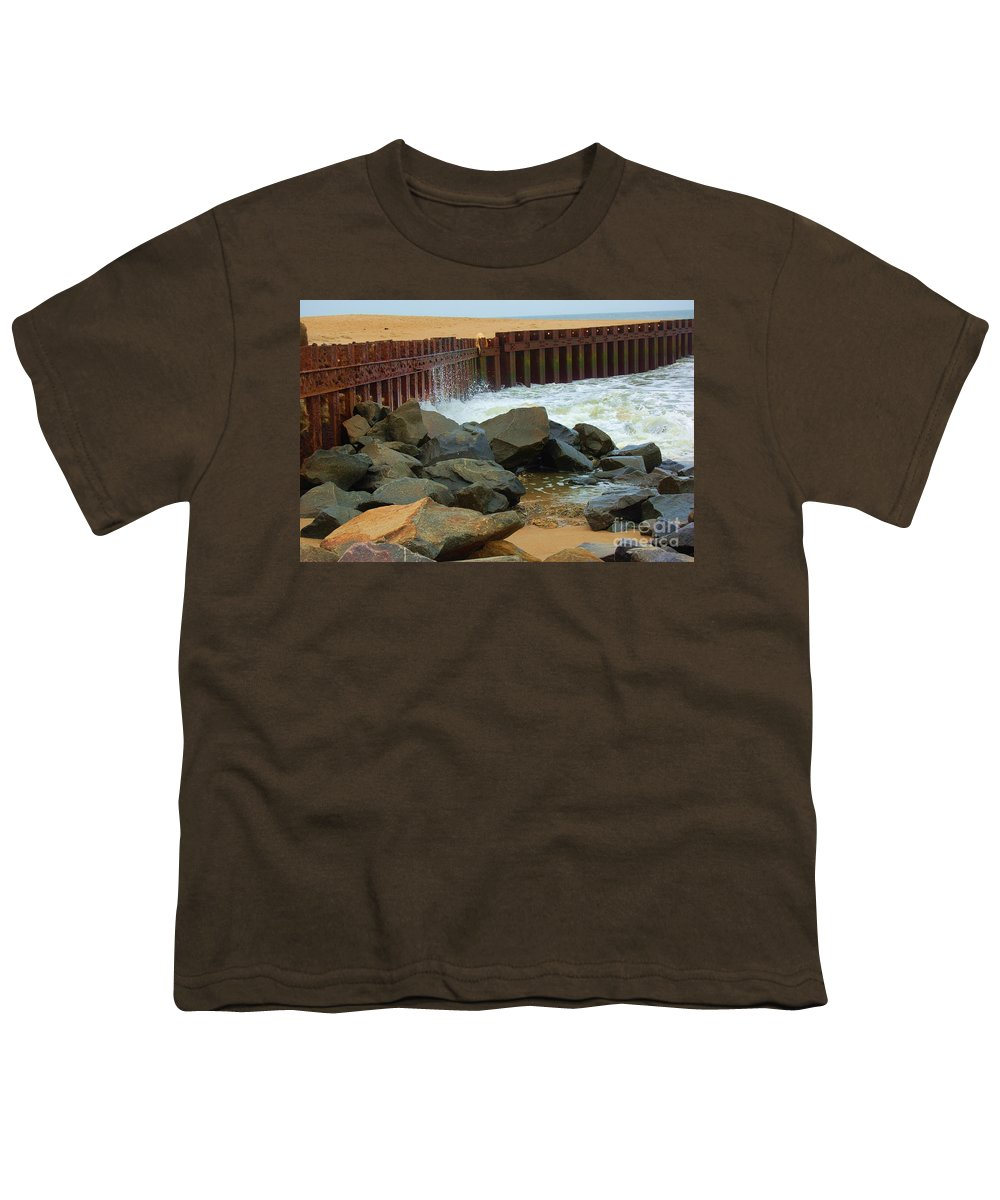 Water Youth T-Shirt featuring the photograph Coast Of Carolina by Debbi Granruth