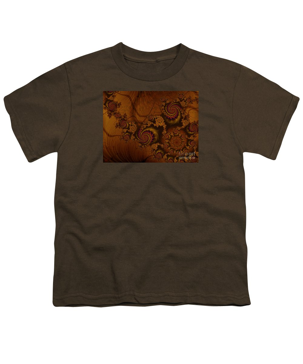 Corners Of The Mind Youth T-Shirt featuring the digital art Corners Of The Mind by Kimberly Hansen