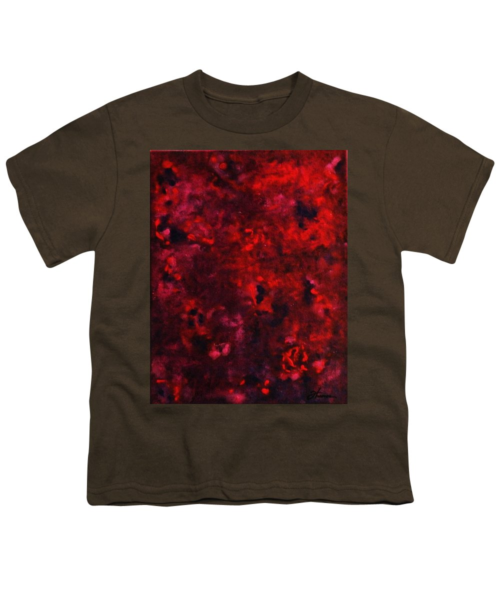 Acrylic Youth T-Shirt featuring the painting Remembrance by Todd Hoover