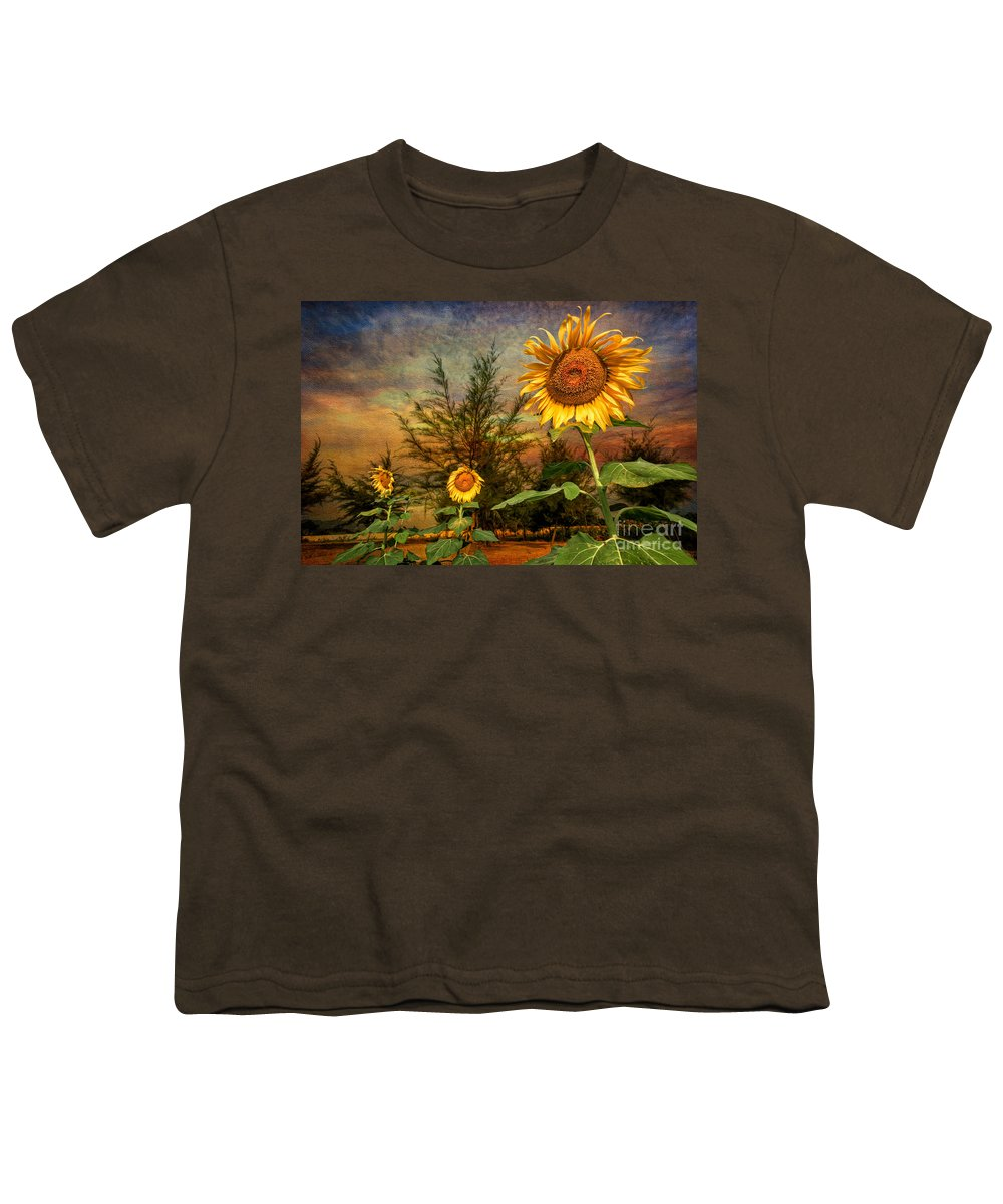 Sunflower Seeds Youth T-Shirts