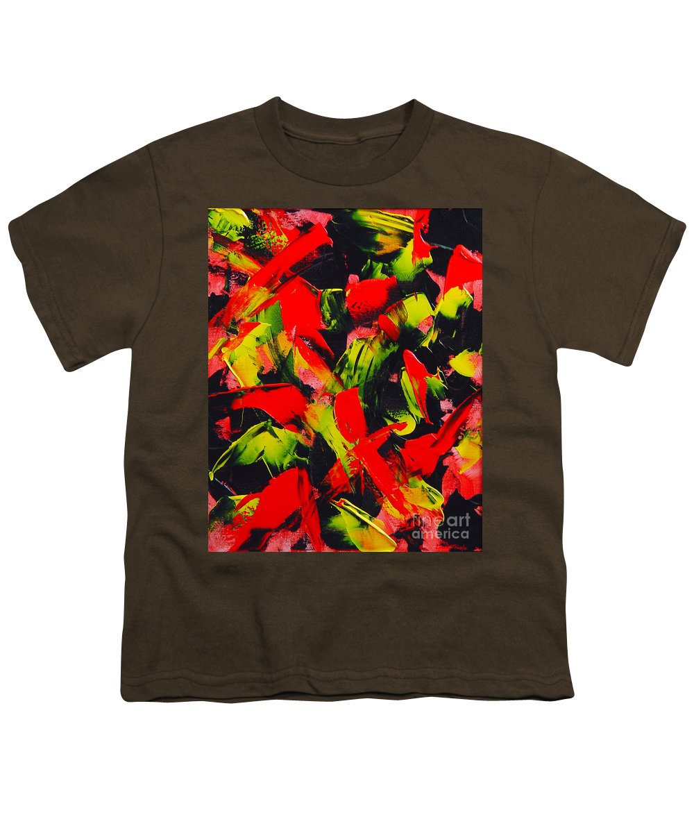 Abstract Youth T-Shirt featuring the painting Transitions IIi by Dean Triolo