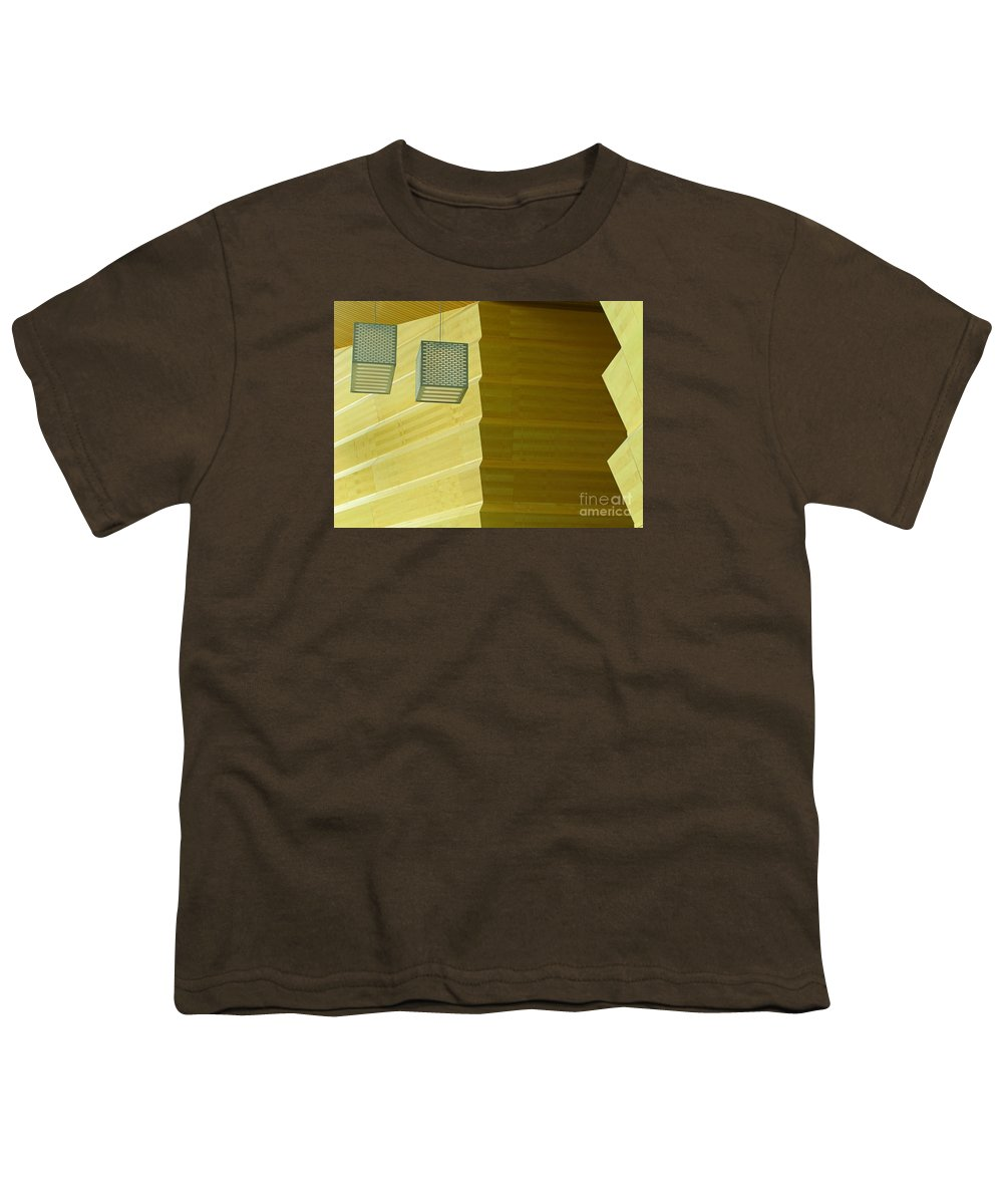 Zig-zag Youth T-Shirt featuring the photograph Zig-zag by Ann Horn