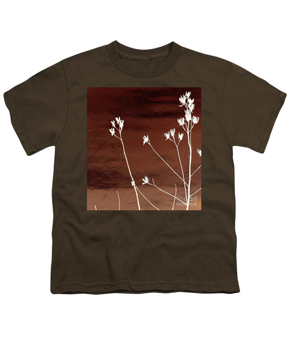 Flowers Youth T-Shirt featuring the photograph Floral by Amanda Barcon