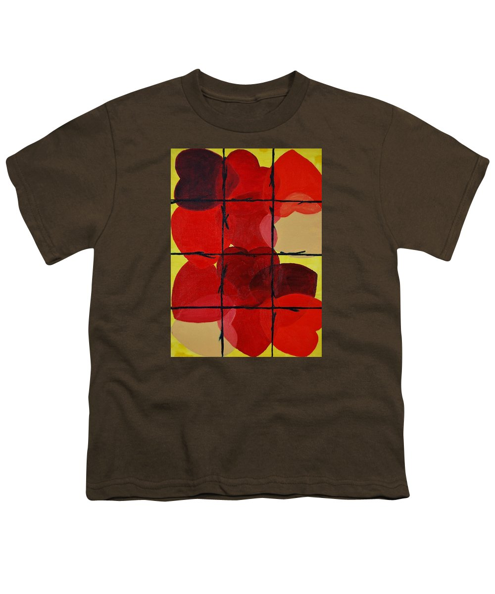 Love Youth T-Shirt featuring the painting Love No Categories Please by Charla Van Vlack