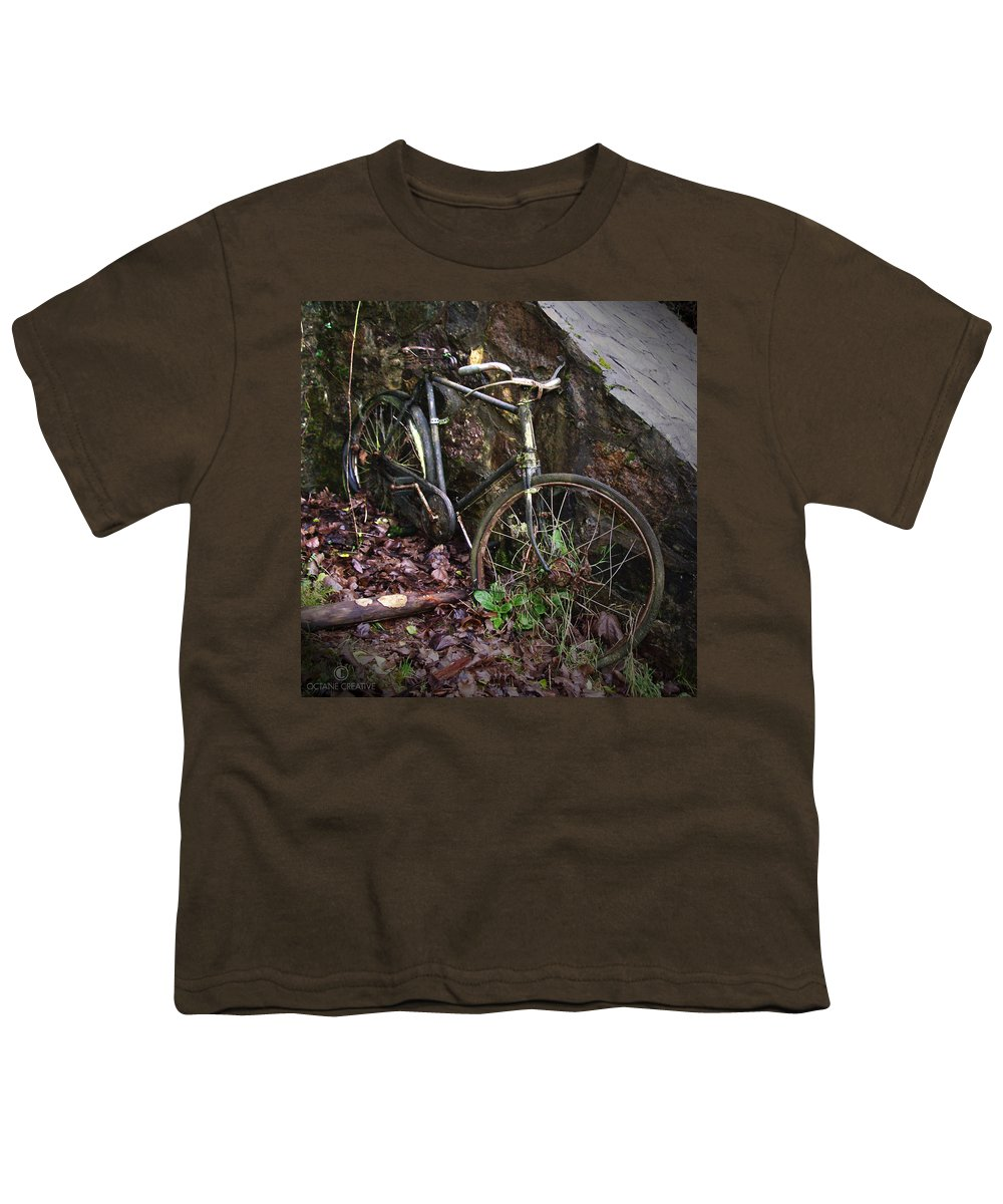 Irish Youth T-Shirt featuring the photograph Abandoned Bicycle by Tim Nyberg