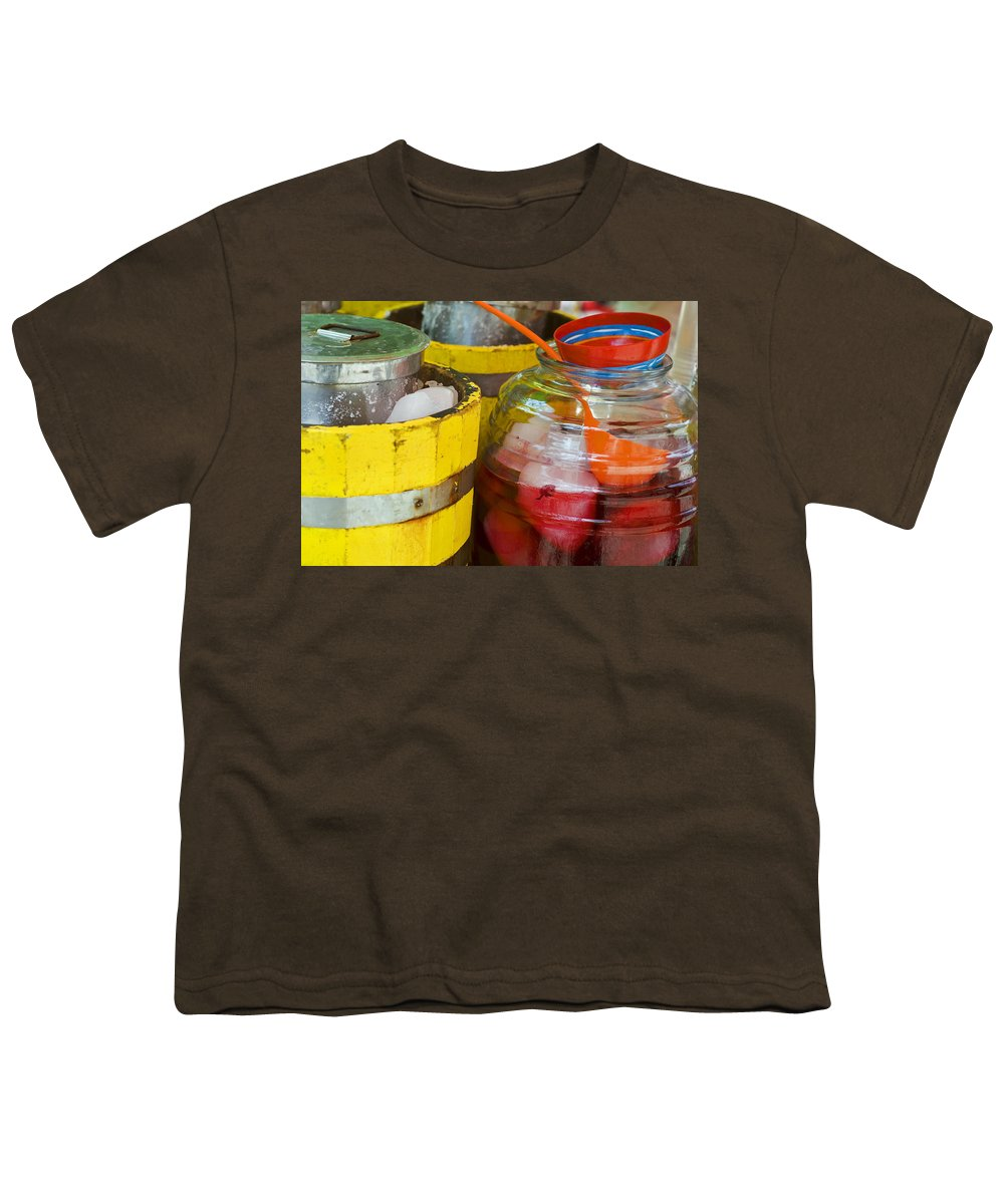 Beverage Youth T-Shirt featuring the photograph Agua De Hamaica by Skip Hunt