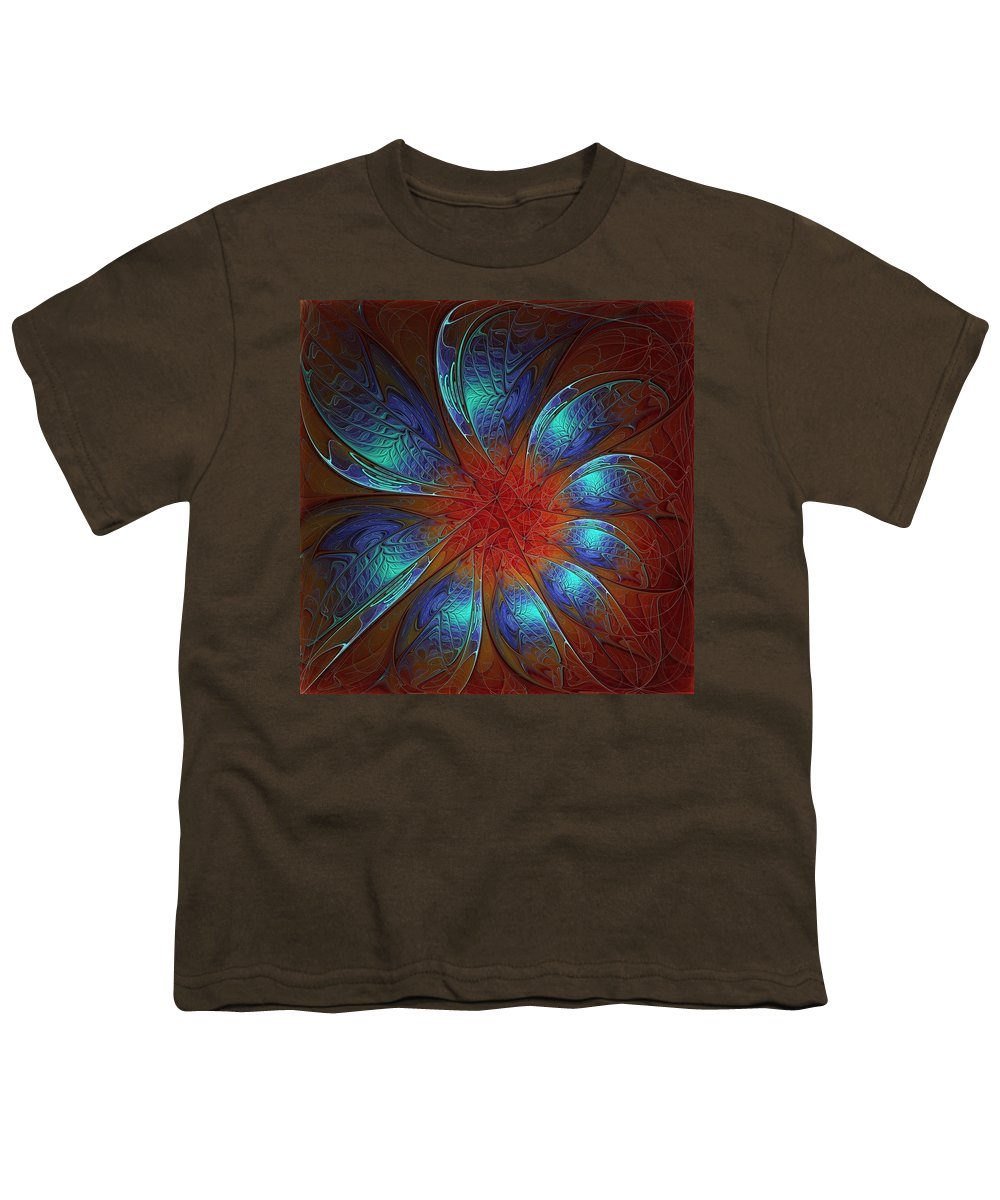 Digital Art Youth T-Shirt featuring the digital art Always And Forever by Amanda Moore