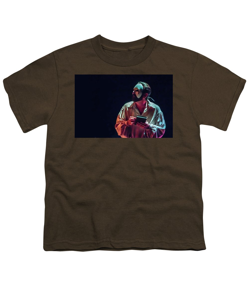 Live Theater Youth T-Shirt featuring the photograph American Phantom by Alan D Smith