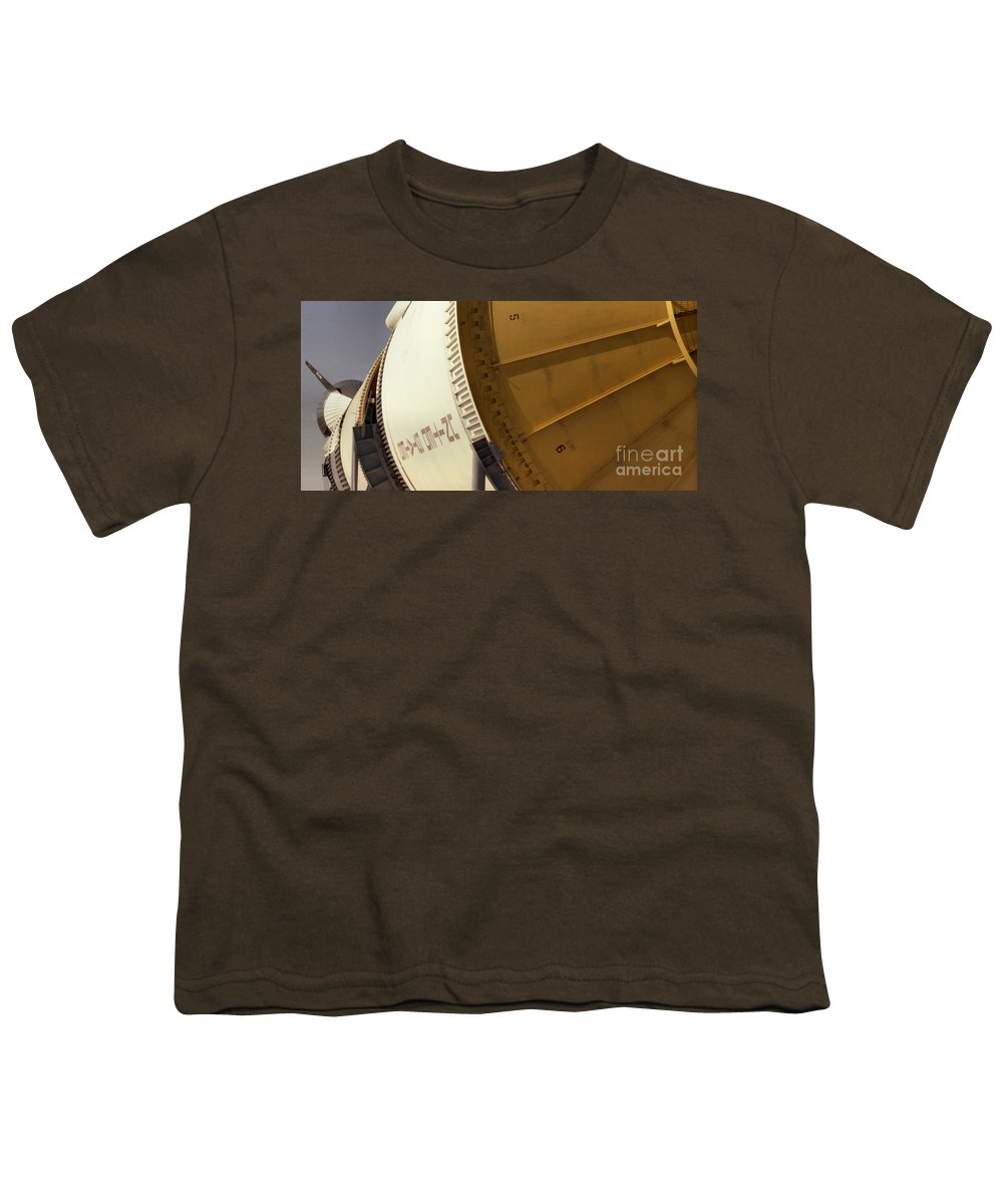 Technology Youth T-Shirt featuring the photograph Apollo Rocket by Richard Rizzo